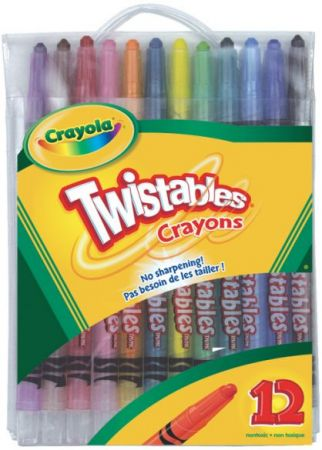 Crayola Twistables Crayons 12 Colors