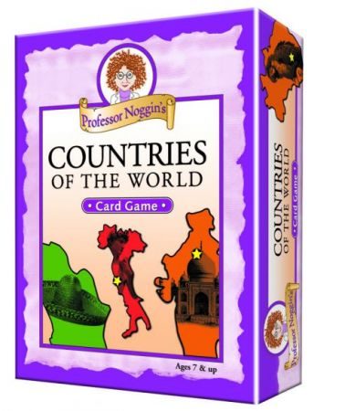 Professor Noggin's Card Game - Countries of the World