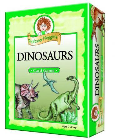 Professor Noggin's Card Game - Dinosaurs