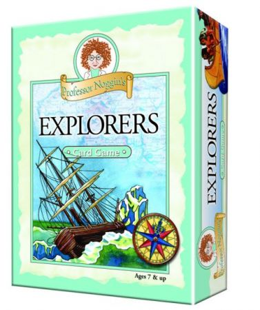 Professor Noggin's Card Game - Explorers