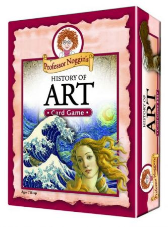 Professor Noggin's Card Game - History of Art