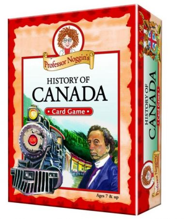 Professor Noggin's Card Game - History of Canada
