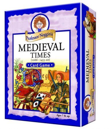 Professor Noggin's Card Game - Medieval Times