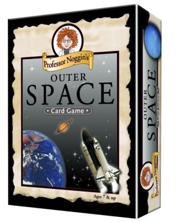 Professor Noggin's Card Game - Outer Space