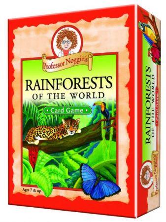 Professor Noggin's Card Game - Rainforests of the World