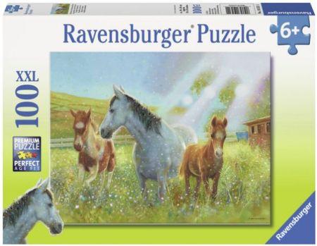 Ravensburger 100 pcs Puzzle - Equine Pasture