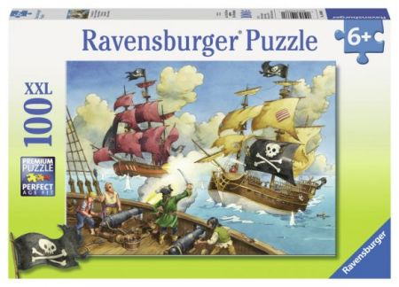 Ravensburger 100 pcs Puzzle - Pirate Battle