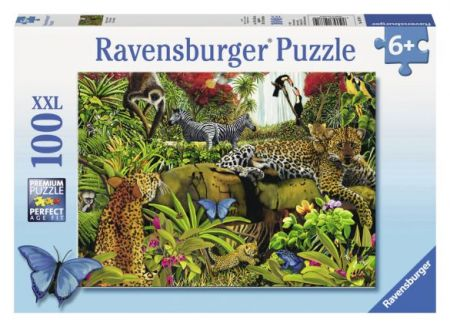 Ravensburger 100 pcs Puzzle - Wild Jungle