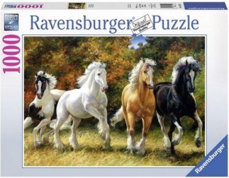 Ravensburger 1000 pcs Puzzle - Galloping Horses