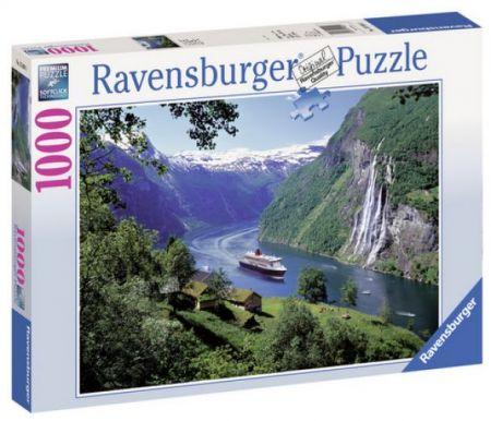 Ravensburger 1000 pcs Puzzle - Norwegian Fjord