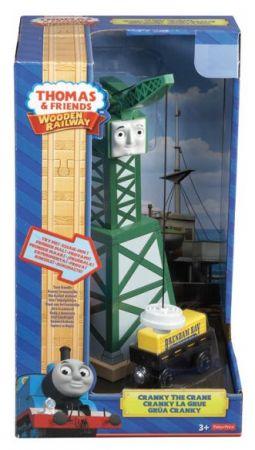 Thomas & Friends Wooden Railway - CrankyCrane Y4368