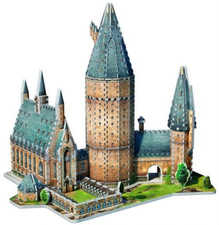 Wrebbit 3D Puzzle - Harry Potter - Hogwarts Great Hall