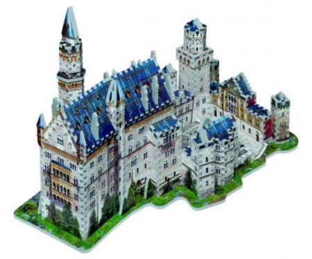 Wrebbit 3D Puzzle - Neuschwanstein Castle