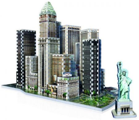 Wrebbit 3D Puzzle - New York Collection: Financial
