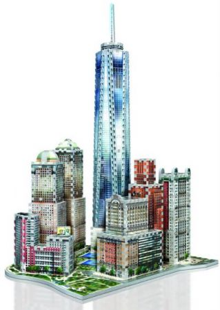 Wrebbit 3D Puzzle - New York Collection: World Trade