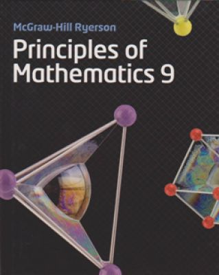 Mcgraw Hill Ryerson Principles Of Math 9 Student