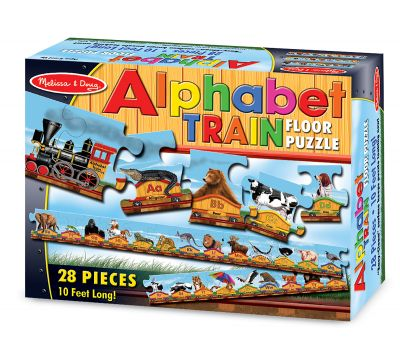 M Amp D Floor Puzzle Alphabet Train My Gifted Child