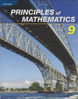 Nelson Principles Of Mathematics 9 Textbook My Gifted Child